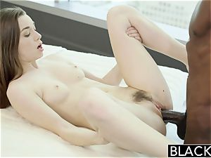 BLACKED Tali Dovas bf Lets her try A fat dark-hued bone