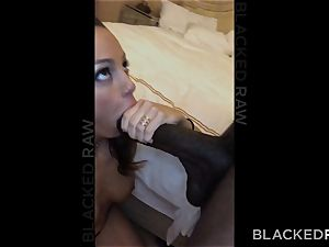 BLACKEDRAW Abigail Mac's spouse Sets Her Up With thickest big black cock In The World