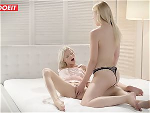 LETSDOEIT - mischievous StepSisters Share a bang-out toy