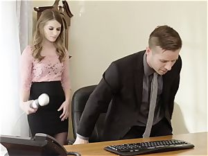 deviant chief bangs uber-sexy Office secretary Alice March