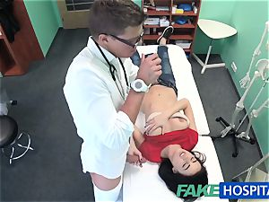 FakeHospital sexy Russian Patient needs huge hard trunk