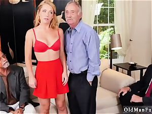 old doll arse and milf boinking Frannkie And The group Tag squad A Door To Door Saleswoman