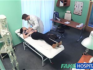 fake clinic hot tattoo Patient cured with hard spear