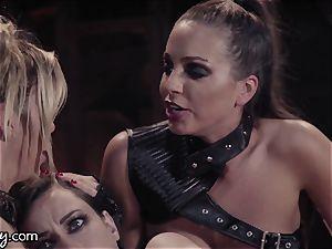 Girlsway Wastelands: enjoyment Bot Alexis Fawx has threesome
