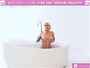 super-hot blonde Alix Lynx cought by beau draining