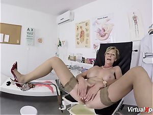 busty grandma gets pov banged by her doctor