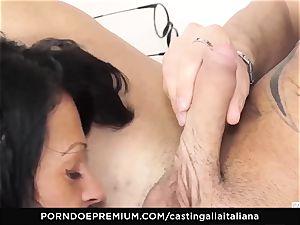 casting ALLA ITALIANA - kinky fucky-fucky with local unexperienced