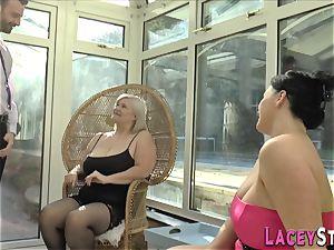 british granny rides face