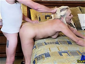 mansion party hook-up with Ms Paris Rose and Melanie Hicks