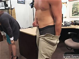 unexperienced mature neighbor and tall platinum-blonde puny titties mummy sells her husband s stuff for