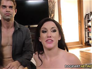 Jennifer milky bbc anal invasion - cuckold Sessions