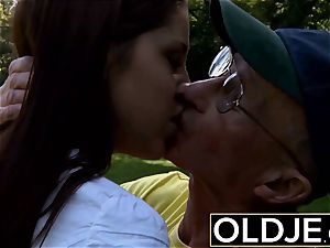 older young gonzo anal for marvelous nubile gulps