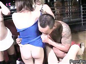 slut April ONeil gets humped up her moist minge