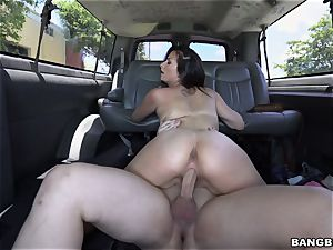 Pretty Alexis picked up and fucked