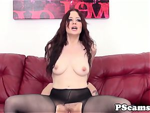 sandy-haired web cam babe Jessica Ryan pussyfucked