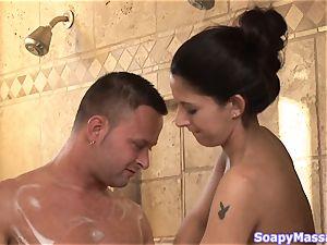 Smoking warm soapy joy with Nikki Daniels