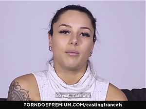 audition FRANCAIS - sumptuous inexperienced first porno boink