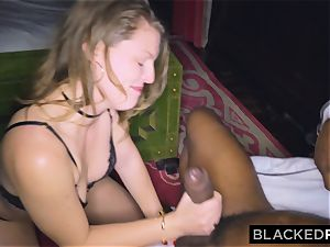 BLACKEDRAW girlfriend cheats with the largest manmeat she's EVER seen