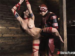 kinky superhero sex with Ariana Marie and Xander Corvus