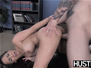 sex-positive cheerleader Leya Falcon destroyed by IR assfuck