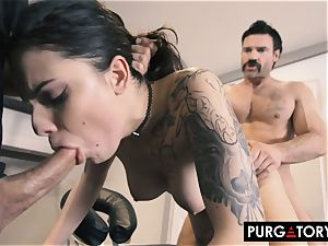 PURGATORY I let my wifey fuck 2 folks in front of me