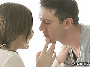 Tina Kay in a sensual couple intercourse that is damsel friendly