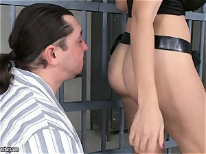 ass poking In prison