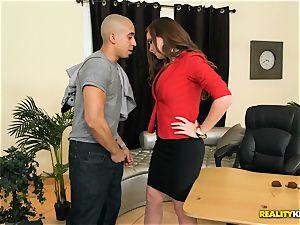 Jessica Rayne boinking her employee