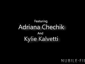 Adriana Chechik Shares Boyfriends cum With BFF