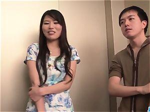 Nana Nakamura acts horny and sensual in top 3