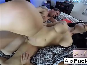 torrid inexperienced 3some with Alix Lynx and Jaclyn Taylor