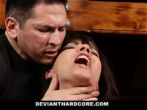 DeviantHardcore-Hot milf groped and manacled To Cross