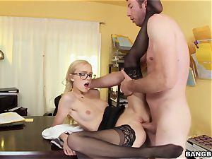 Alex Grey porked in her tight vag