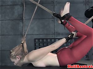 tied like a hog victim ball-gagged and predominated by sir
