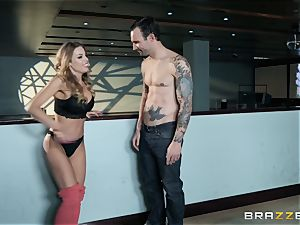 Britney Amber bowling and labia plumbing
