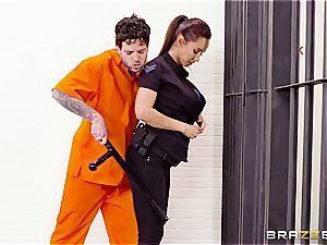 Don't drop the soap in Brazzers prison