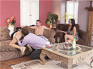 gang hookup and Hangman with uber-cute couples 1