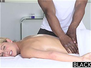 BLACKED hot Southern ash-blonde Takes humungous dark-hued fuck-stick
