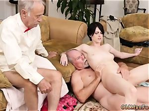 old bi-atch anal and dad observes me douche Frannkie goes down the Hersey highway