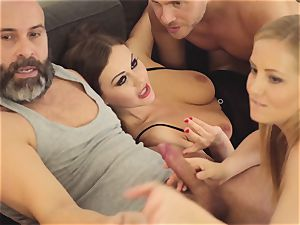 LOS CONSOLADORES - scorching swinger four-way with warm honies