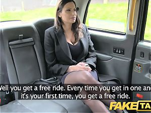 fake cab super-hot buxomy babe gets humungous spunk shot