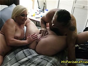 splattering Swingers hump with Ms Paris and buddies