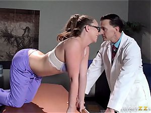 Nurse Maddy OReilly puts things right with a poking