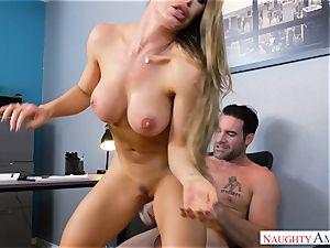 Nicole Aniston fucking at work
