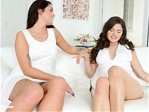 Lauren Minardi and Francesca Dicaprio - sapphic sc