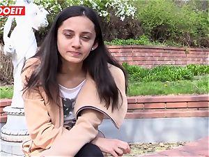 LETSDOEIT - mischievous nubile luvs massaging Her bean to ejaculation