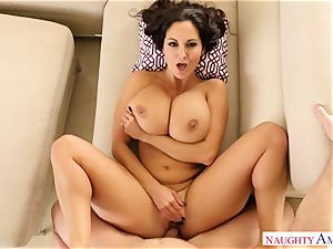 huge-titted nymph Ava Addams with huge bootylicious cupcakes takes her spouse hard's schlong