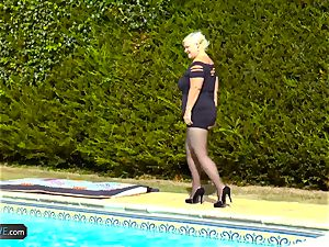 AgedLovE Lacey Starr porking Poolboy hard-core