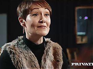 Private.com - Ella Hughes, spunk in Her unshaved pussy