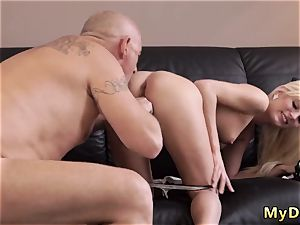 older gal scissoring and daddy grappling He couldn t believe how deep this diminutive jaws can